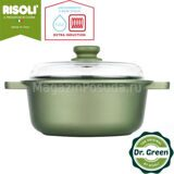 Кастрюля 24 см Risoli Dr Green Extra Induction